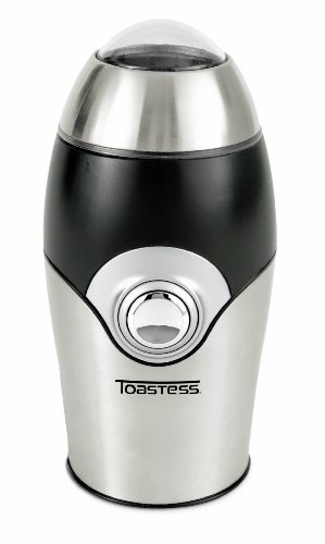 Toastess TCG-357 Stainless-Steel 1-4/5-Ounce Coffee and Spice Grinder