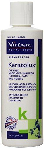 Virbac Keratolux Shampoo, 8-Ounce