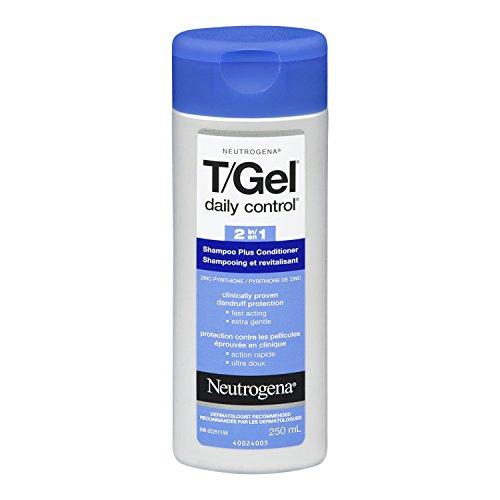 Neutrogena T/Gel Daily Control 2-in-1 Dandruff Shampoo, 250ml