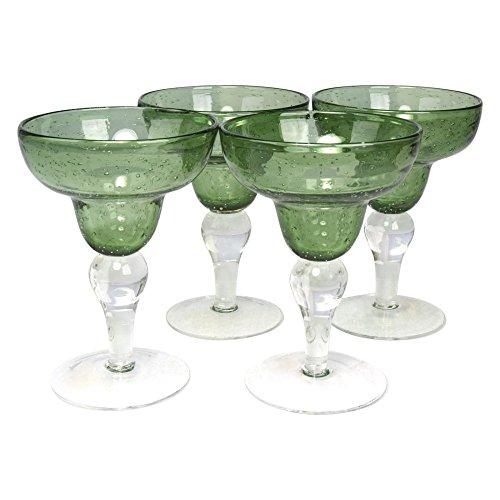 Artland Iris Double Old Fashioned Glasses, Amber, Set of 4