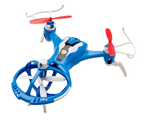 UST Enterprise Quadcopter Kids Drone - UFO Spaceship Design with Bright LED Lights and 3D Stunts - Bonus Battery Included