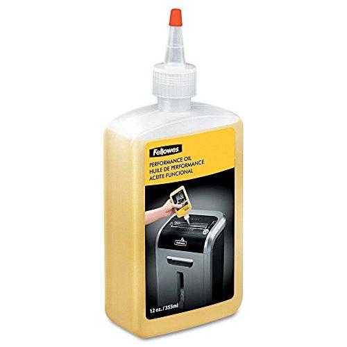Fellowes 35250 Oil Shredder Bottle with Extended Nozzle, 355 ml