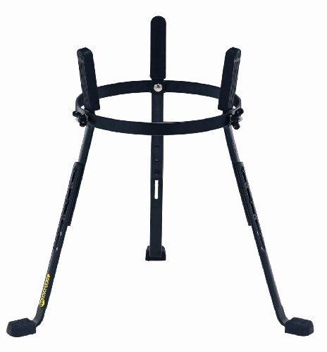 Meinl 12.5 inch Steely II Conga Stands - Black Powder Coated
