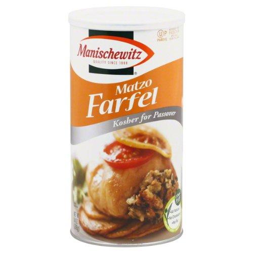 Manischewitz Matzo Farfel Canister, 14-Ounce (Pack of 6)