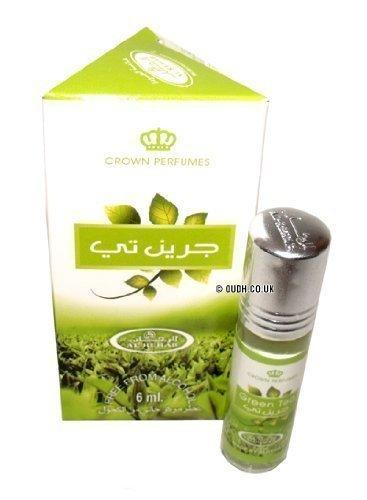 Green Tea Perfume Oil - 6ml by Al Rehab