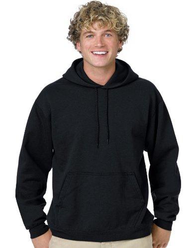 Hanes Men`s ComfortBlend® EcoSmart® Pullover Hoodie Sweatshirt, 4XL-Black