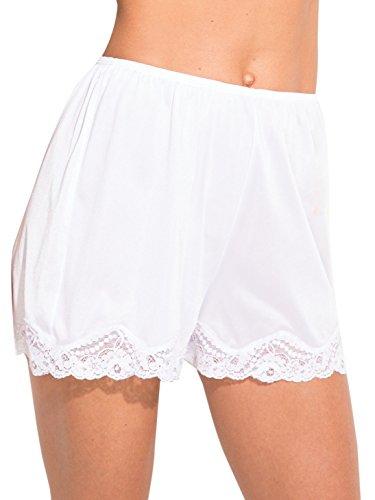 Ilusion Classic Daywear Bloomer Slip Large White