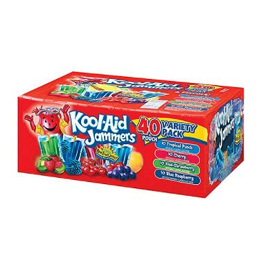Kool-aid Jammers Variety 40 Pouches