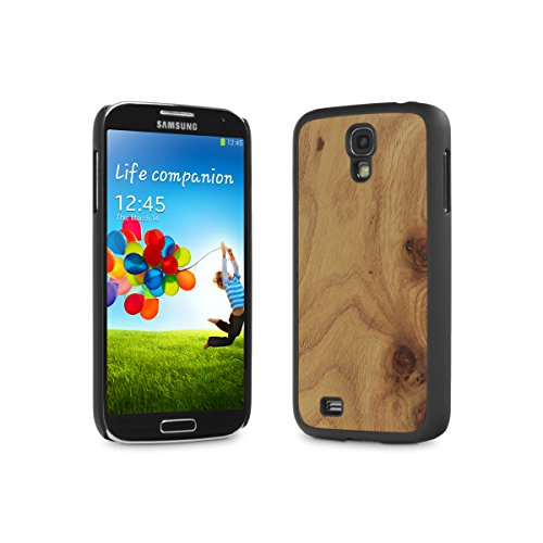 Cover-Up #WoodBack Real Wood Case for Samsung Galaxy S4 - Carpathian Elm Burl