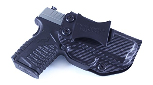 Concealment Express IWB KYDEX Holster: fits Springfield XD-S 3.3 9MM/45ACP (Carbon Fiber Black - Right Hand)