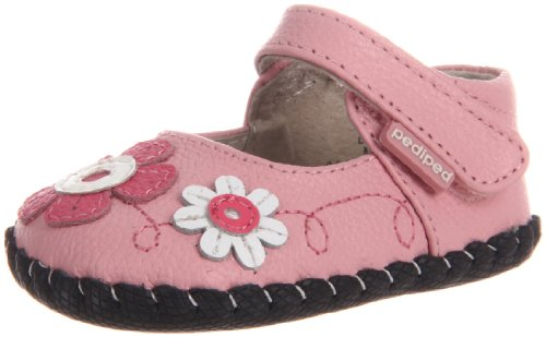 pediped Originals Sadie Mary Jane Crib Shoe (Infant)