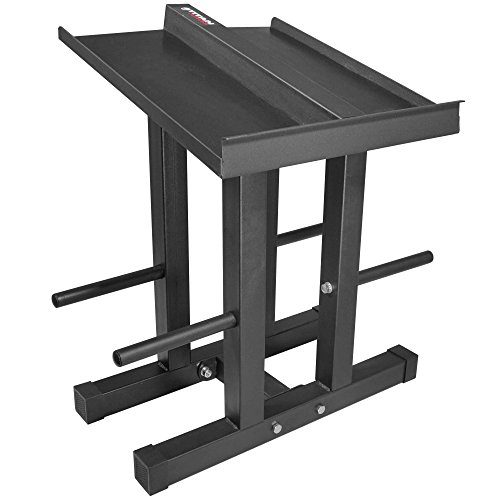 Titan Adjustable Dumbbell Column Stand and Plate Tree Power Block