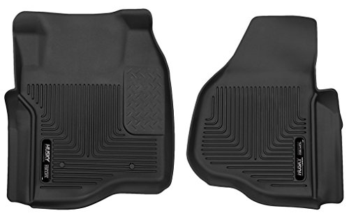 Husky Liners Custom Fit X-act Contour Molded Front Floor Liner for Select Ford Models (Black)