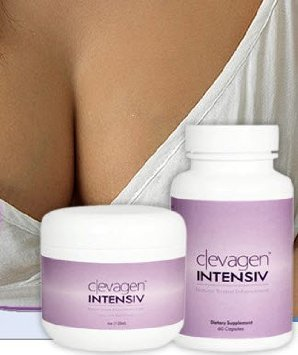 Clevagen INTENSIV - Natural BREAST Enlargement - 1 Month System - Top Rated Formula + FREE SHIPPING! ACT NOW!!