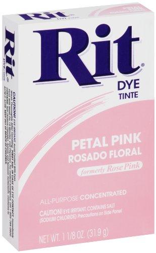 Rit Dye Sewing Powder Petal Pink 1.125 Ounces