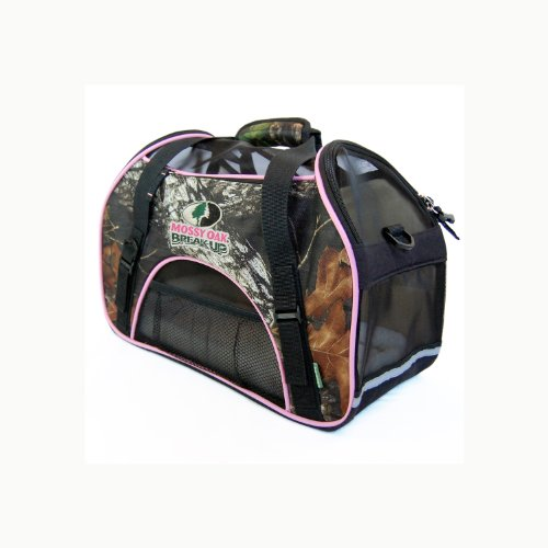 Bergan Mossy Oak Comfort Carrier for Pets, Large, Pink
