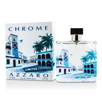 Loris Azzaro Chrome Eau de Toilette Spray for Men (Limited Edition), 3.4 Ounce