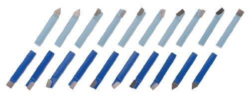 Steelex M1074 3/8-Inch Carbide Tool Bits, 20-Piece