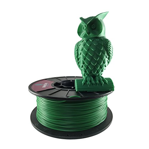 MeltInk3d Dark Green 1.75mm PLA 3D Printer Filament 1Kg