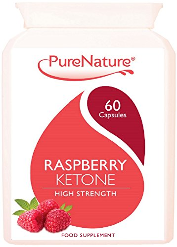 Raspberry Ketone 100% Highly Concentrated 12000mg Daily Serving UK's MAXIMUM Strength to Support Diet Slimming and Body Toning Suitable for Vegetarians - FREE UK Delivery