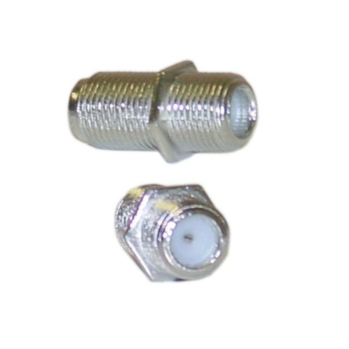 niceEshop Cblwhl F-Pin Coupler, Female / Female