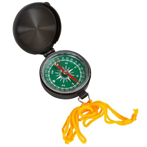 Joy Enterprises FP15641 Fury Mustang Directional Compass, 1.75-Inch, Olive Drab Case with Lanyard Ring
