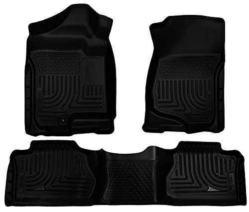 Husky Liners 98261 WeatherBeater Series Black Front and 2nd Seat Floor Liner