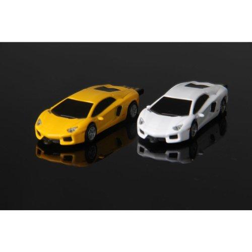 Lamborghini Murcielago Car USB Memory Stick Flash Drive 16 GB - WHITE