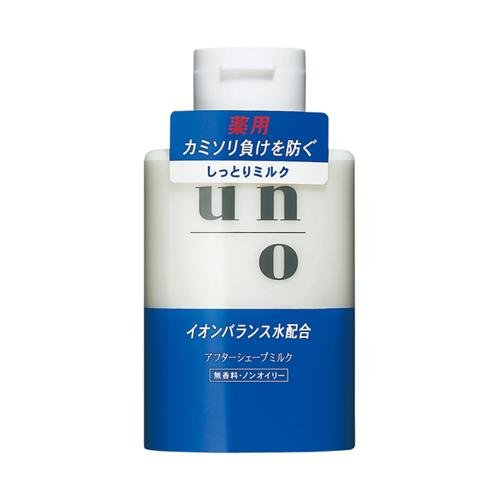 Shiseido UNO Medicated After Shave Milk Lotion 160ml