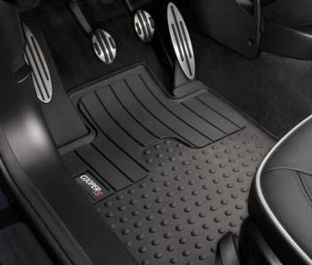 MINI Cooper Countryman S Genuine Factory OEM 51472181811 S Logo Front All Season Floor Mats