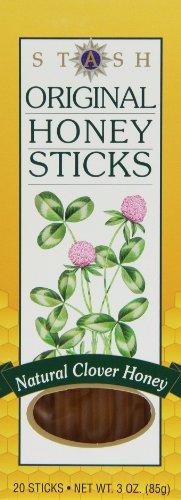 Stash Tea Original Honey Sticks, 3 oz, 20 Count Sticks