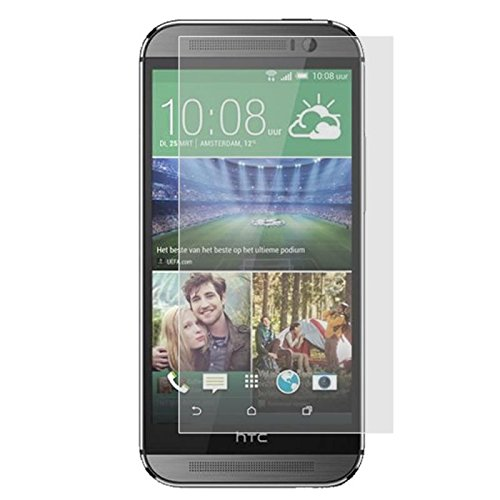 Cell Accessories For Less (TM) Anti Glare LCD Screen Protector for HTC One M8 Bundle (Stylus & Micro Cleaning Cloth) - By TheTargetBuys
