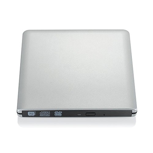 VicTop Ultra Slim External USB 3.0 CD/DVD-RW Writer Burner Player for Apple Macbook Pro Air Imac or Other PC/ Laptop