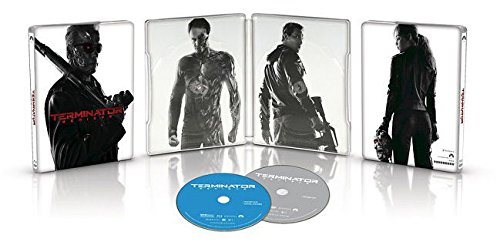 Terminator Genisys Exclusive Limited Edition Steelbook (Blu Ray + DVD + Digital HD)