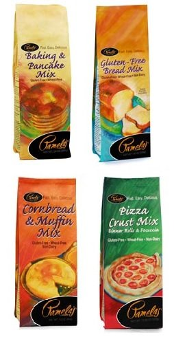 Pamela's Products Top Seller Baking Mix 4 Pack