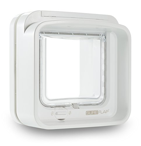 SureFlap DualScan Microchip Cat Flap, White