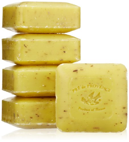 Pre de Provence Soap, Set Of 5, Lemongrass, 125 Gram Cello Wrap