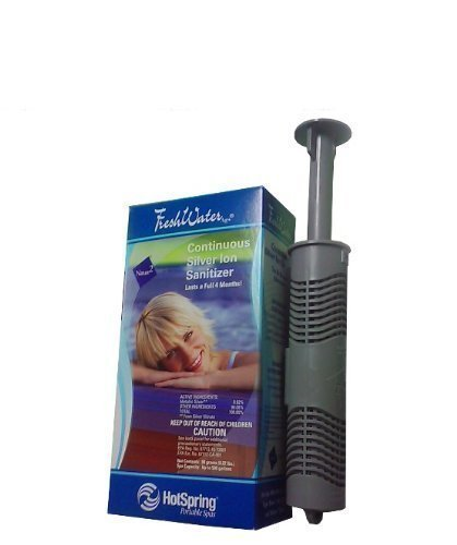 HotSpring Freshwater Silver Ion Cartridge Sanitizer Hot Tub Hot Spring Spas Sanitize Hot Spot