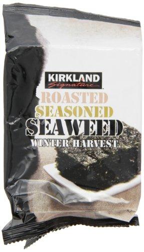 Kirkland Signature Roasted Seaweed, 10 Count
