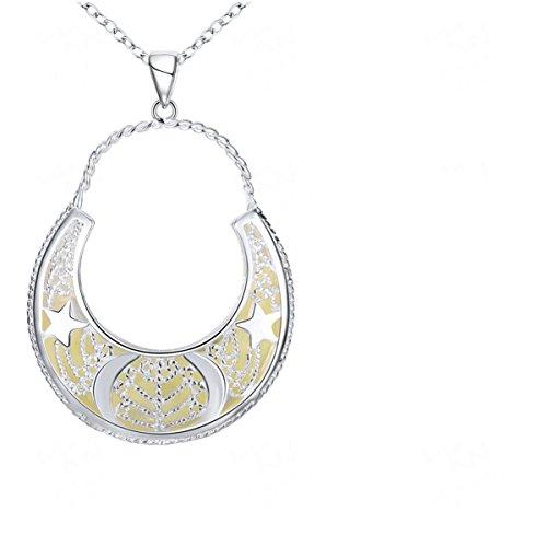 Handmade Noctilucen Fashion Hollow Pendant Necklace?Fluorescent Green?