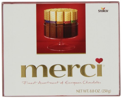 Merci European Chocolates, Assortment, 8.8-Ounce Boxes (Pack of 2)