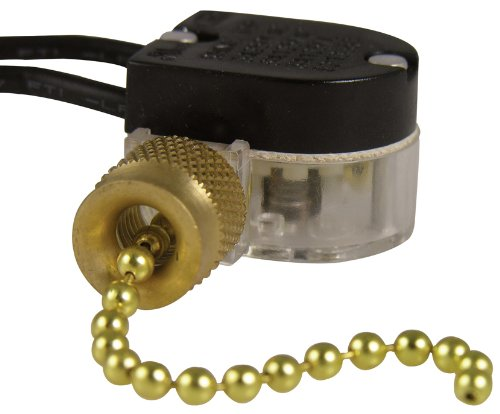 Gardner Bender GSW-32 Nickel Plated Pull Chain Switches