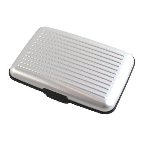 Slim Aluminum RFID Protection Credit Card & Casino Card Wallet, Multi Colors!