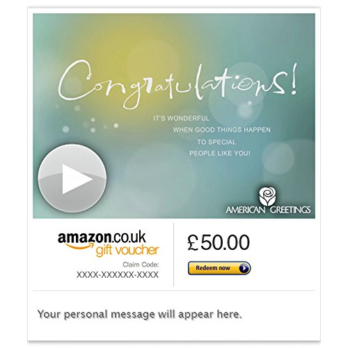 Congratulations - Good For You (Animated) - E-mail Amazon.co.uk Gift Voucher