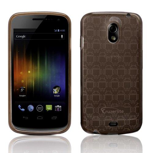 Smoke - Cruzer Lite Androidified High Gloss TPU Soft Gel Skin Case - For Samsung Galaxy Nexus {SCH-i515 & GT-i925} [Cruzer Lite Retail Packaging]