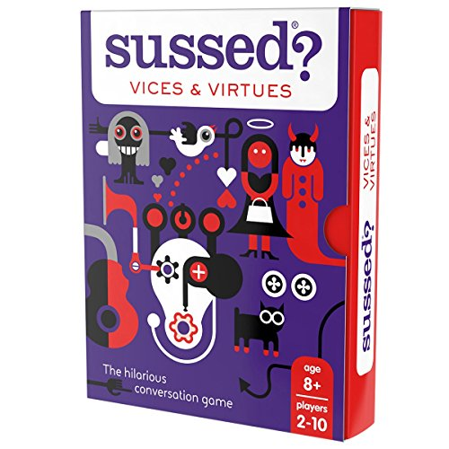 Sussed Pocket Card Game - Vices and Virtues: Well, Nobody's Perfect