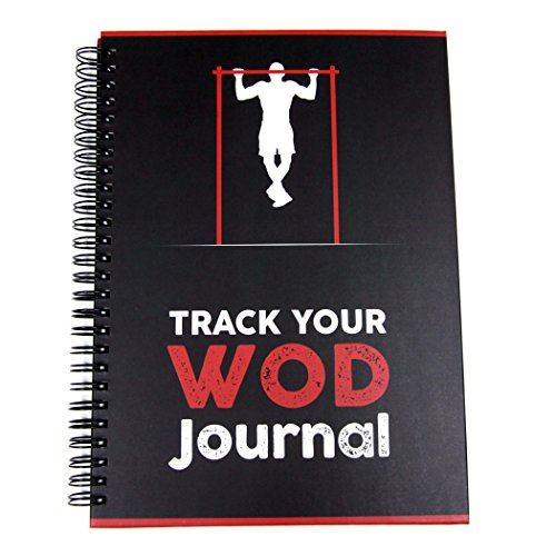 Track Your WOD Journal - The Ultimate CrossFit WOD Tracking Journal. 6x9 Hardcover