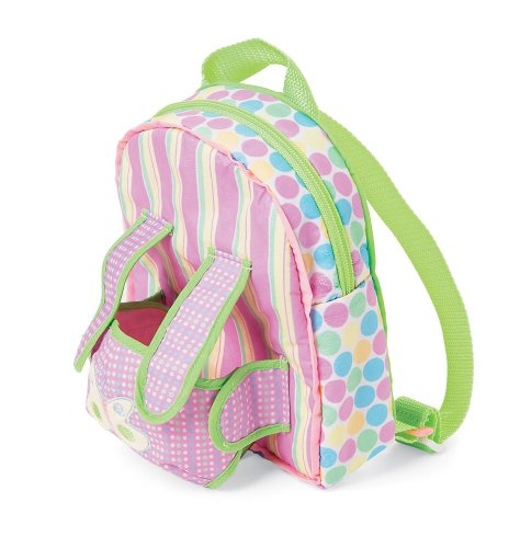 Manhattan Toy Baby Stella Baby Carrier and Backpack Accessory for Nurturing Dolls