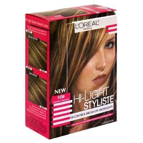 L'Oreal Hi-Light Styliste Highlights,H50 Toasted Almond