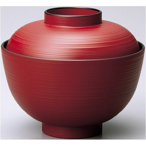 Japanese soup rice bowl with Lid NRD